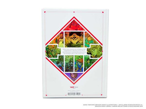 [Damaged] Dragon Quest Illustrations 30th Anniversary Edition Artbook (Hardcover)
