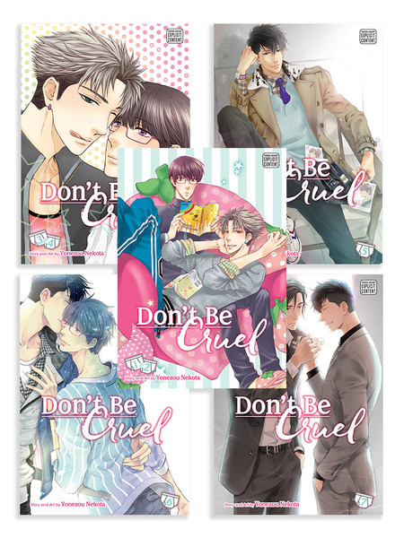 Don't Be Cruel Manga (1-7) Bundle