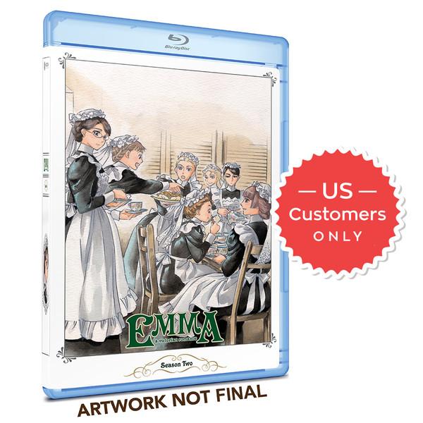 Emma Kickstarter Season 2 Blu-Ray (US Customers)
