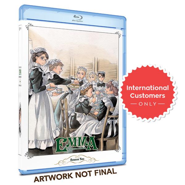 Emma Kickstarter Season 2 Blu-Ray (non-US Customers)