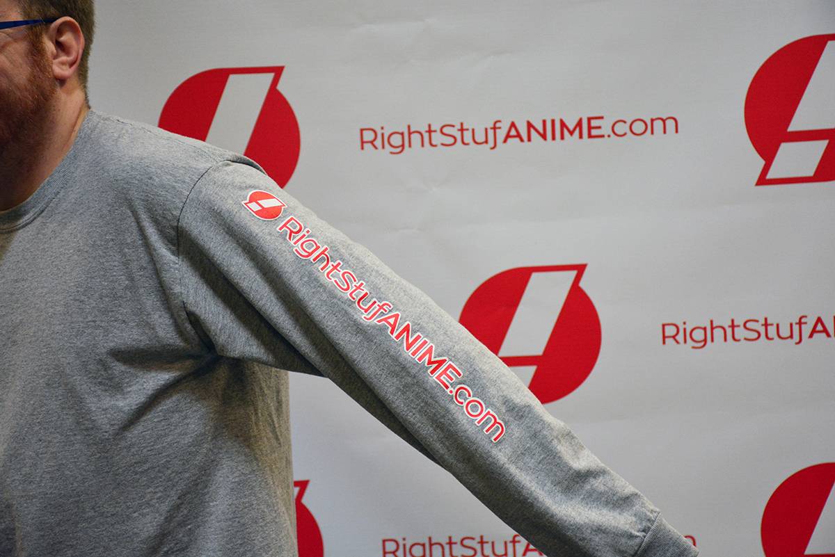 Eyes For Anime! Rightstuf T-shirt