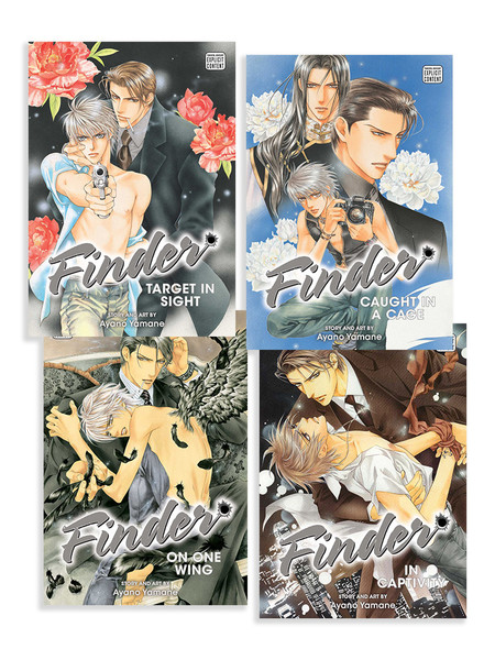Finder Deluxe Edition Manga (1-4) Bundle