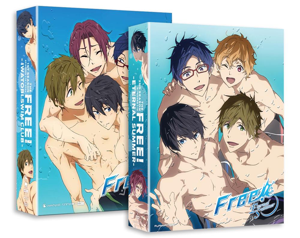 Free! Season 1 + Season 2 Limited Editions Bundle FREELEBUNDLE