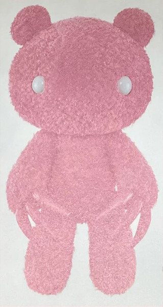 Chax Gloomy Bear Abstraction Edition Pink Plush