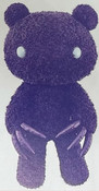 Chax Gloomy Bear Abstraction Edition Purple Plush