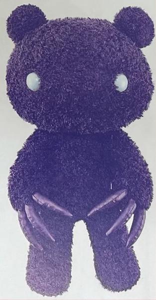 Chax Gloomy Bear Abstraction Edition Purple Plush