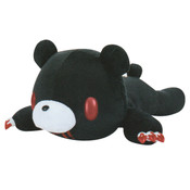 Chax Gloomy Bear Pocket Tummy Lying Down Edition Black Plush