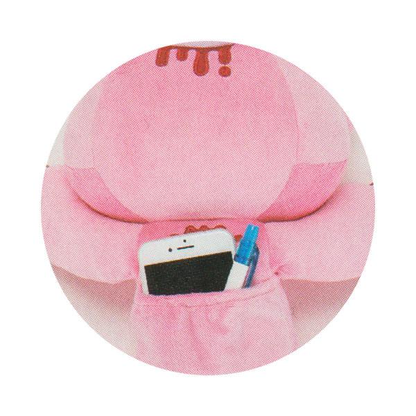 Chax Gloomy Bear Pocket Tummy Lying Down Edition Brown Plush