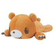 Chax Gloomy Bear Pocket Tummy Lying Down Edition Brown Plush