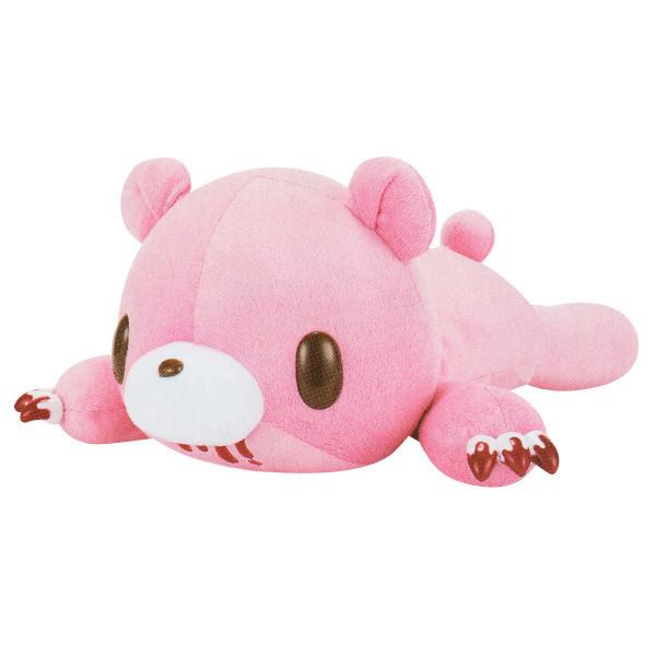 Chax Gloomy Bear Pocket Tummy Lying Down Edition Pink Plush