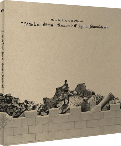 [Imperfect] Attack on Titan Season 2 Vinyl Soundtrack