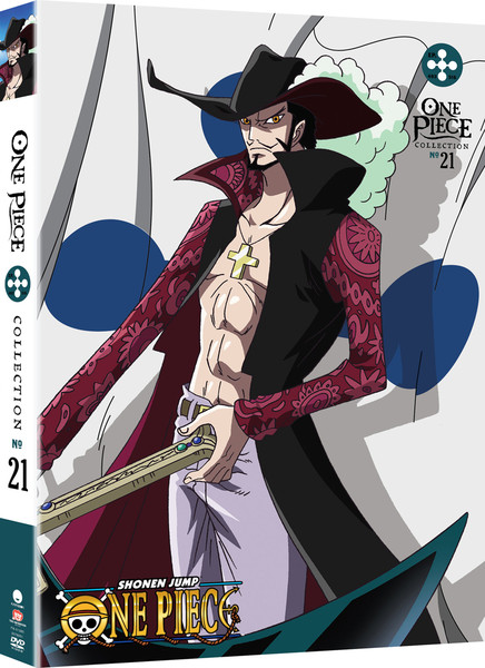 [Imperfect] One Piece Collection 21 DVD Uncut