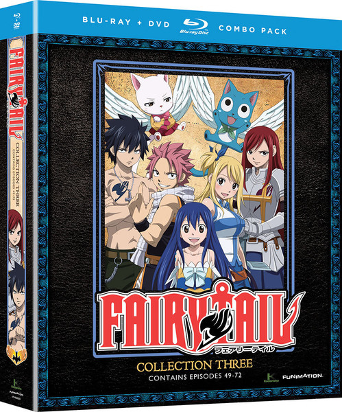 [Imperfect] Fairy Tail Collection 3 Blu-ray/DVD