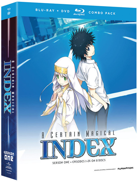 [Imperfect] A Certain Magical Index Season 1 Blu-ray/DVD