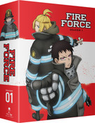 [Imperfect] Fire Force Season 1 Part 2 Limited Edition Blu-ray/DVD