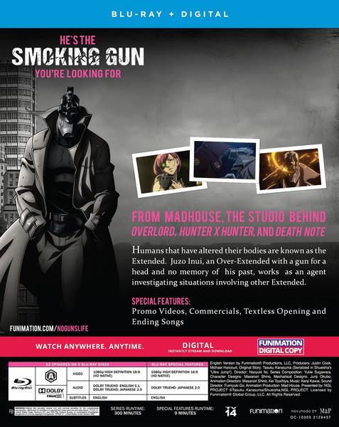 [Imperfect] No Guns Life Season 1 Blu-Ray