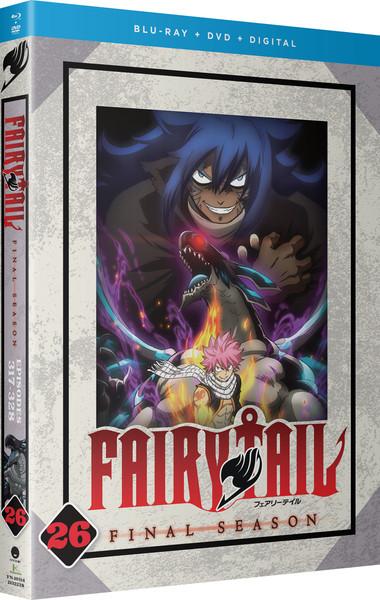[Imperfect] Fairy Tail Final Season Part 26 Blu-ray/DVD