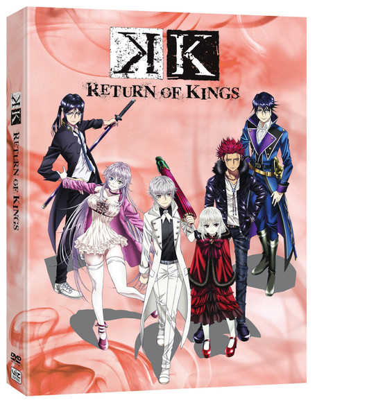 [Imperfect] K Return of Kings DVD