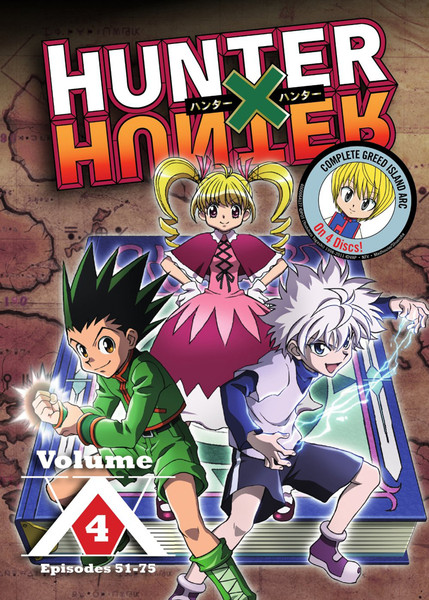 [Imperfect] Hunter X Hunter Set 4 DVD