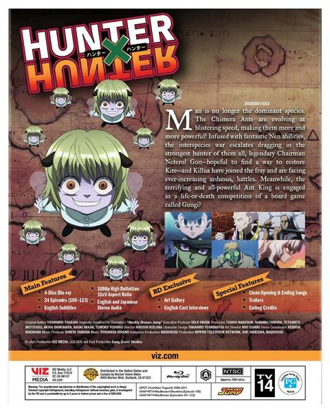 [Imperfect] Hunter X Hunter Set 6 Blu-ray