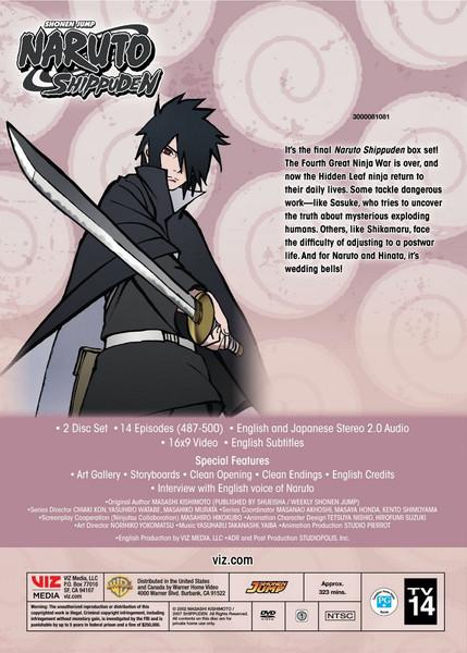 [Imperfect] Naruto Shippuden Set 38 DVD Uncut