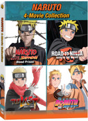 [Imperfect] Naruto 4-Movie Collection DVD