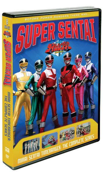 [Imperfect] Power Rangers Mirai Sentai Timeranger DVD