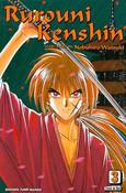 [Imperfect] Rurouni Kenshin BIG Edition Manga Volume 3
