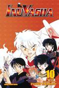 [Imperfect] Inu Yasha 3 in 1 Edition Manga Volume 10