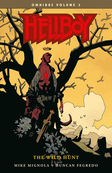 [Imperfect] Hellboy Omnibus Volume 3 The Wild Hunt Graphic Novel