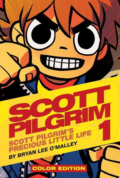 [Imperfect] Scott Pilgrim Color Edition Graphic Novel Volume 1 (Hardcover)