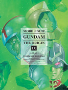 [Imperfect] Mobile Suit Gundam: The Origin Manga Omnibus 9 (Hardcover)