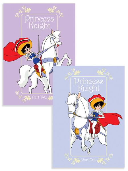 Princess Knight (Part 1-2) DVD Bundle