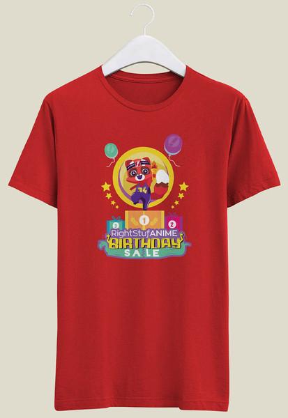 Ritsu RightStuf Anime 34th Birthday T-shirt