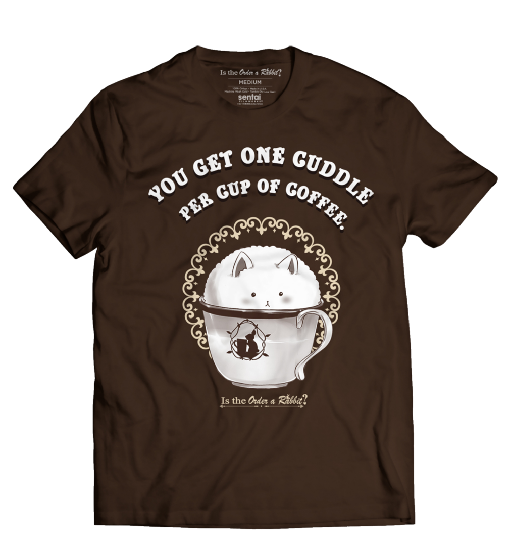 Is the Order a Rabbit Tippy Cup T-Shirt SFMASTIPPY