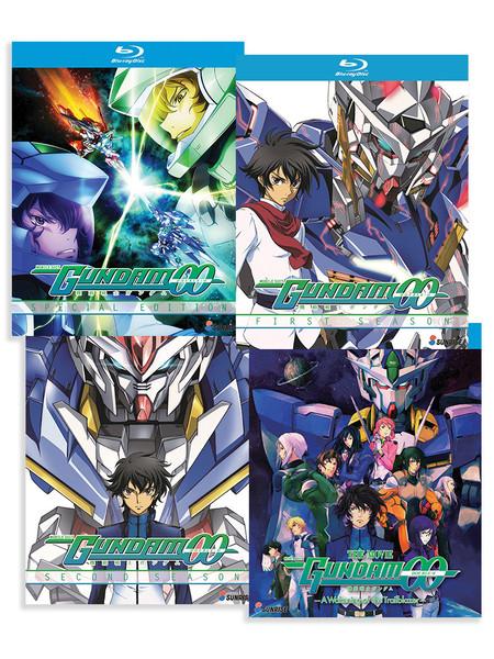 Mobile Suit Gundam 00 (Collection 1-2 + OVA + Movie) Blu-ray