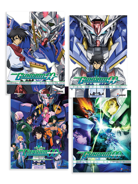 Mobile Suit Gundam 00 (Collection 1-2 + OVA + Movie) DVD Bundle