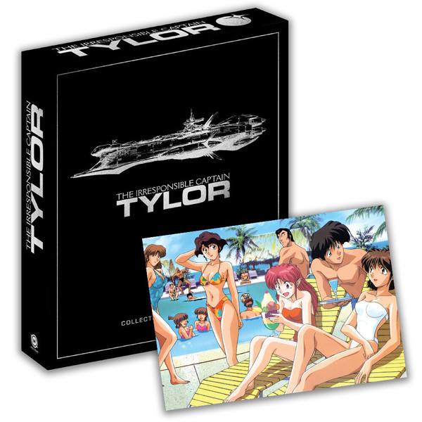 Irresponsible Captain Tylor Collector's Ultra Edition + Artbook & Autograph Blu-ray