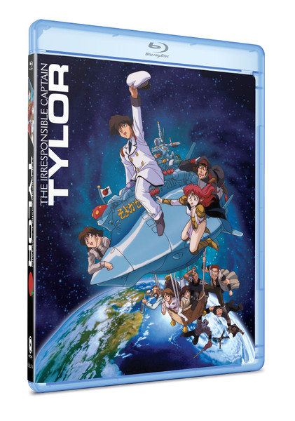 Irresponsible Captain Tylor Collector's Ultra Edition + Artbook Blu-ray