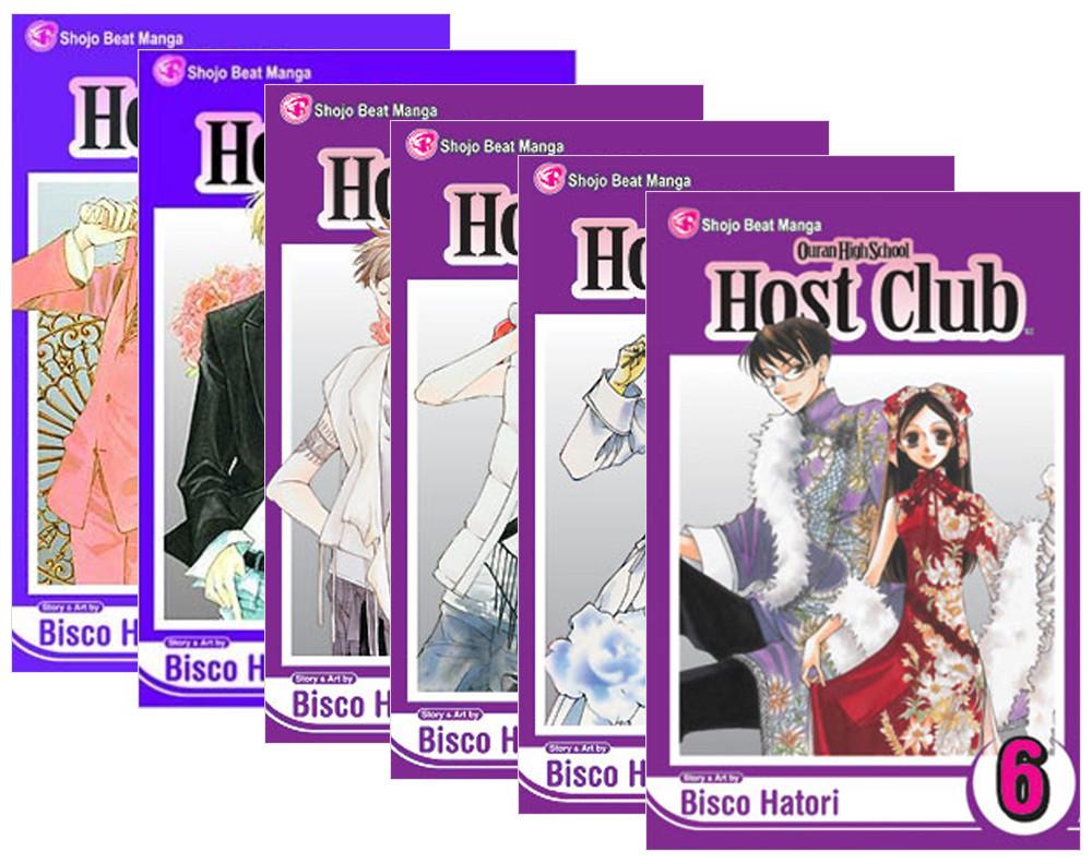 Ouran High School Host Club Manga (1-6) Bundle
