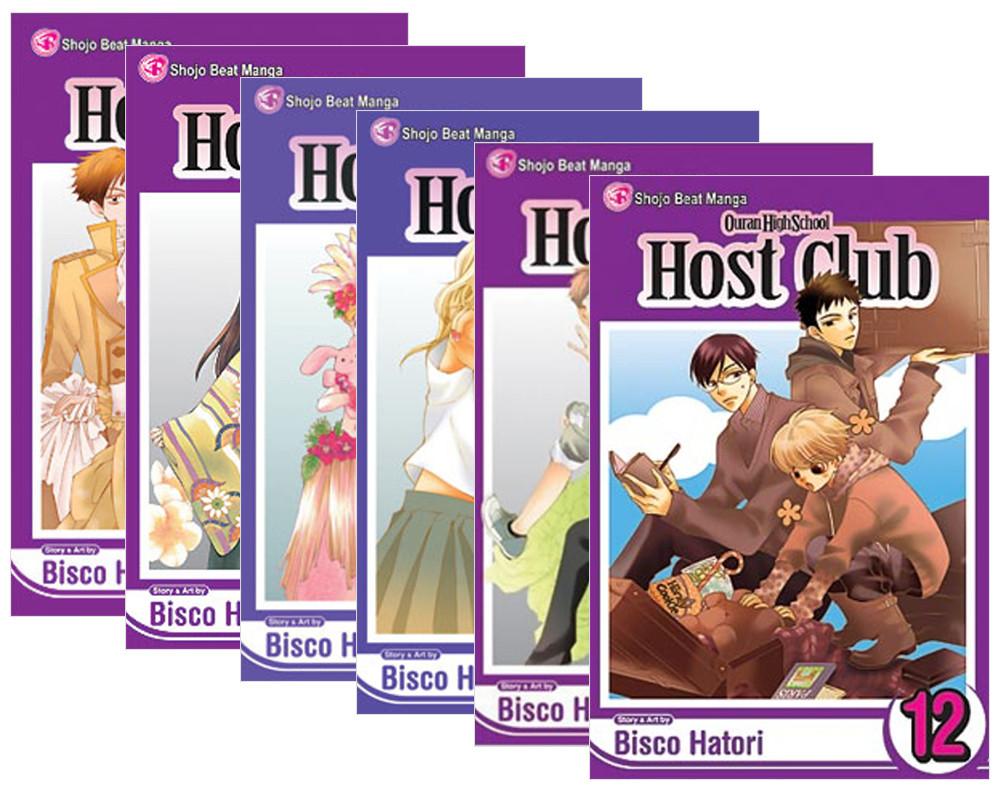 Ouran High School Host Club Manga (7-12) Bundle