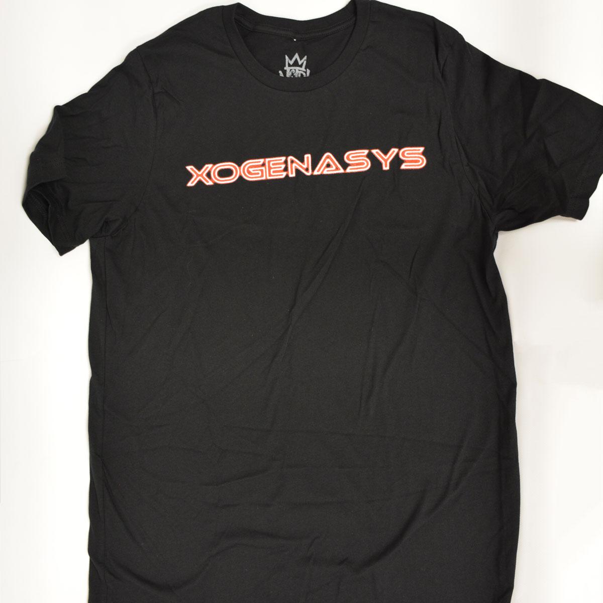 XOGENASYS Noir Caesar Black T-shirt