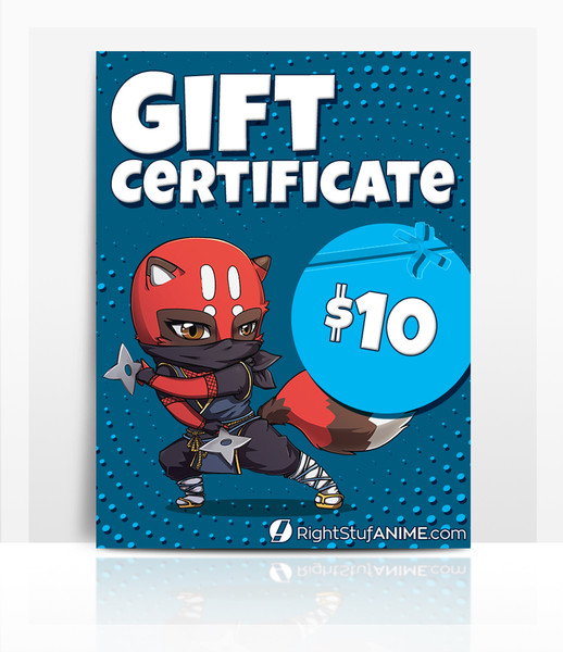 Right Stuf $10 Gift Certificate